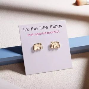Jewelry - Host Pick | Elephant Earrings | Trunk up for Luck